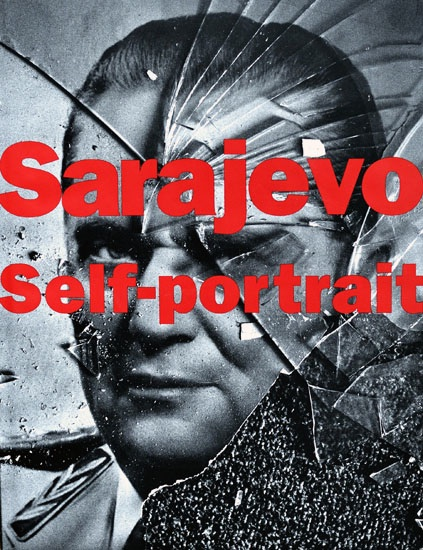 cover of book sarajevo self portrait