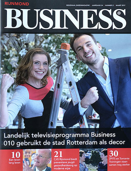 landelijk televisieprogramma business 010 cover rijnmond business